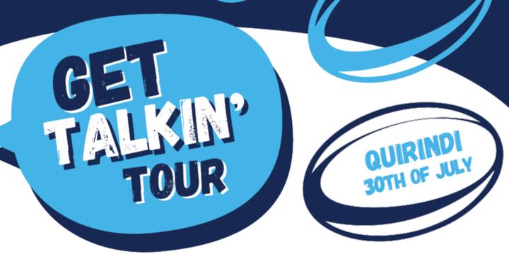 Get Talkin' Tour |  Quirindi Event Banner