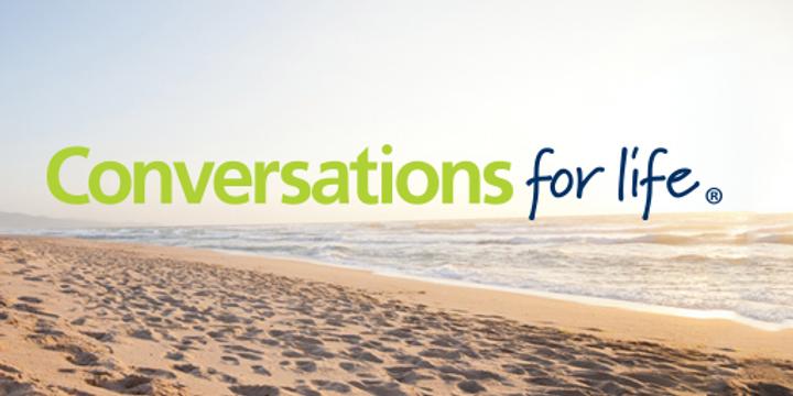 Conversations for Life - Suicide Prevention Workshop Event Banner