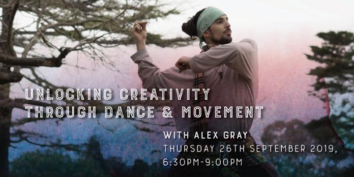 Unlocking Creativity through Dance & Movement Event Banner