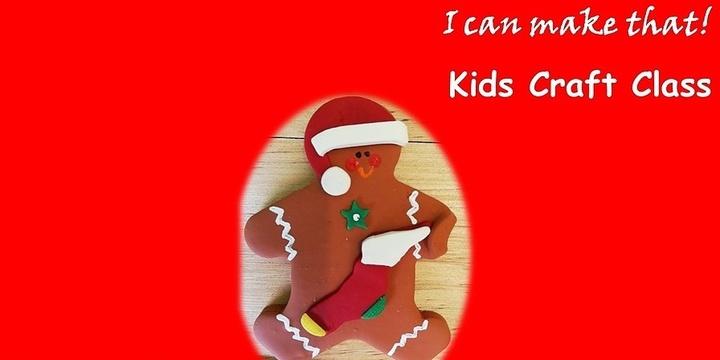Polymer Clay Christmas Decoration Workshop for Children Event Banner