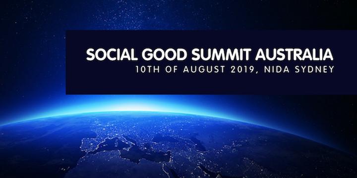Social Good Summit Australia 2019 Event Banner