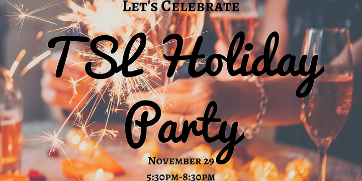 SSH Quarterly Drinks - Holiday Party Edition Event Banner