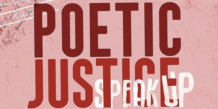Equality On and Off the Mic (SpeakUP Poetic Justice Workshop) with She the Change, Will Small & Olivia Wolfe Event Banner