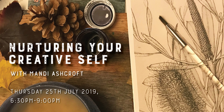 Nurturing Your Creative Self Event Banner
