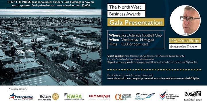 Gala Presentation-North West Business Awards Event Banner