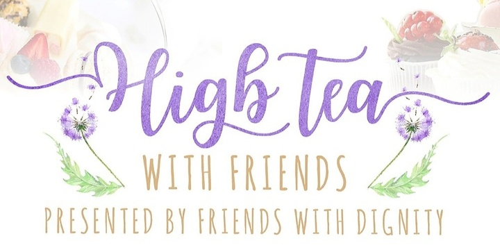 High Tea with Friends Event Banner