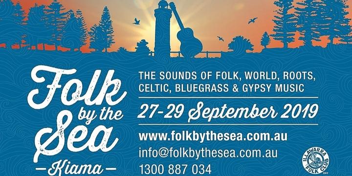 Folk by the Sea 2019, Kiama Event Banner