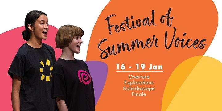 Festival of Summer Voices 2020 Event Banner