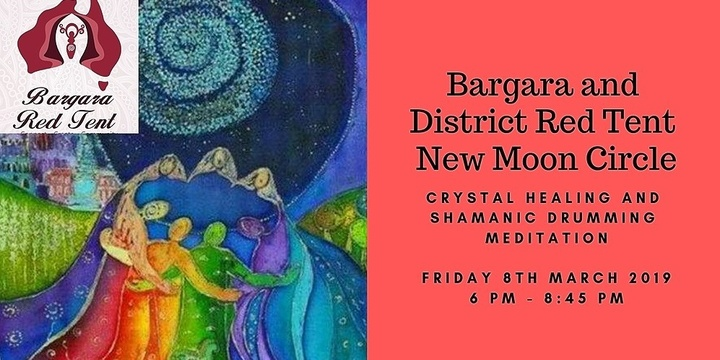 New Moon Circle: Crystal Healing and Shamanic Meditation Tickets, Fri 8th  Mar 2019 6:00 pm - 8:45 pm | Humanitix