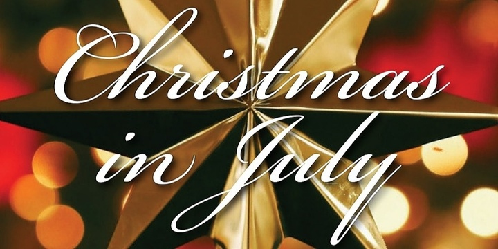Christmas in July Event Banner