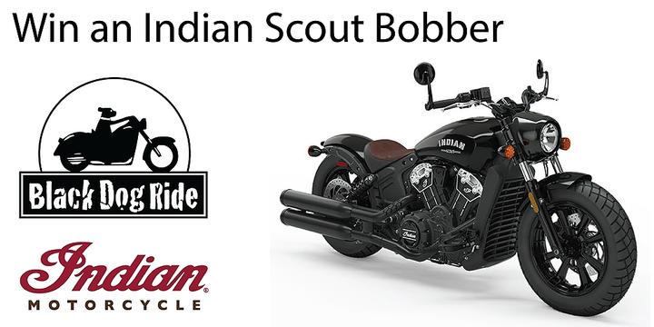 Indian Scout Bobber Raffle Event Banner