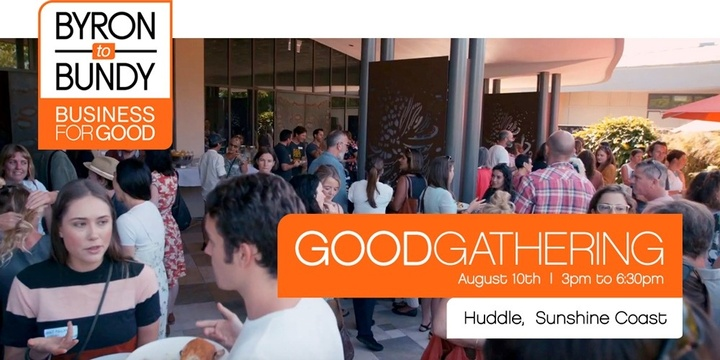 GoodGathering - Sunshine Coast Event Banner