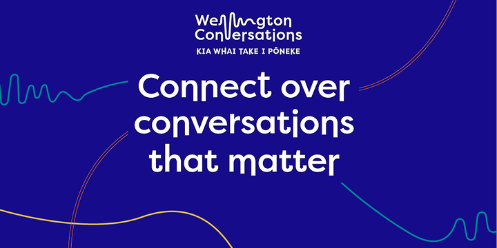 Wellington Conversations - Vogelmorn Community Group - September Event Banner