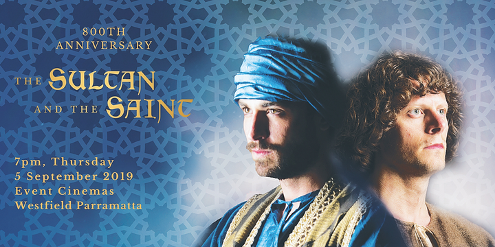 The Sultan & the Saint 800th Anniversary Event Banner