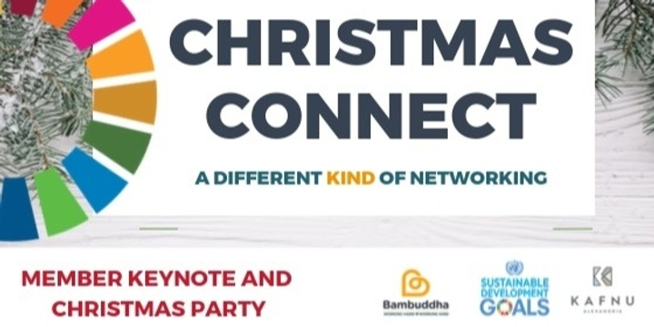 Leadership Keynote and Networking - December Event - Christmas Connect Event Banner