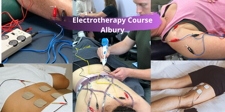 Electrotherapy Course (Albury NSW) Event Banner