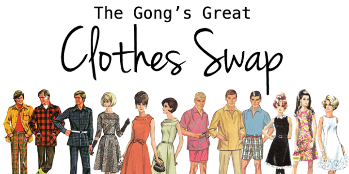 The Great Gong Clothes Swap 2019 Event Banner