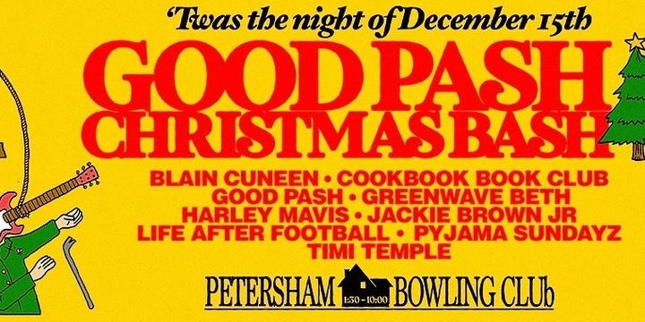 Good Pash Christmas Bash Event Banner