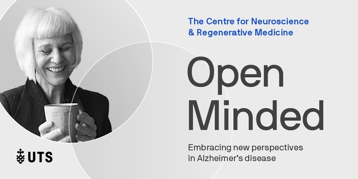 Open Minded: Embracing new perspectives in Alzheimer's - MAIL LIST REGISTRATION Event Banner