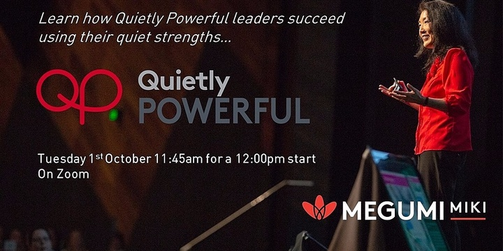 FitT eWorkshop - Quietly Powerful with Megumi Miki Event Banner