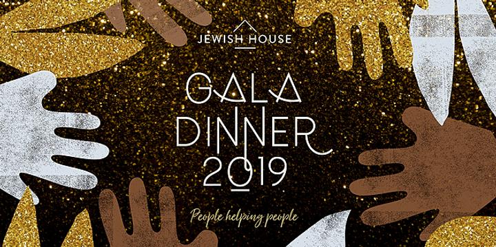 Jewish House Gala Dinner 2019 Event Banner