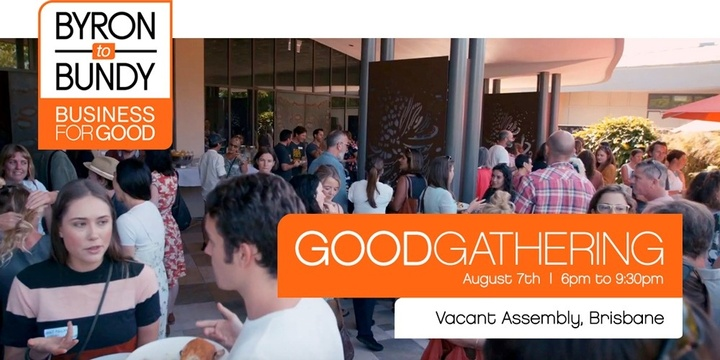 GoodGathering - Brisbane Event Banner