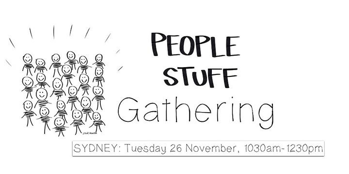People Stuff Gathering - Sydney Event Banner