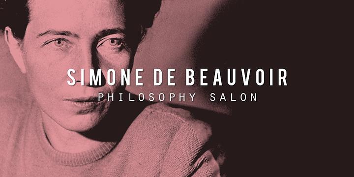 Philosophy Salon: Simone de Beauvoir (Sydney) Event Banner