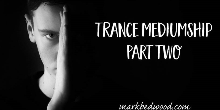 US Trance Mediumship Part 2 Event Banner