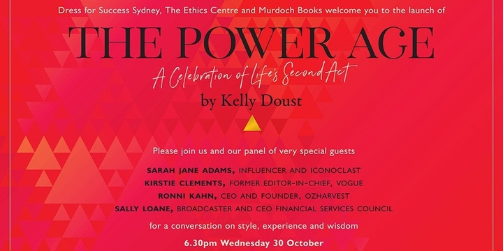 The Power Age: A celebration of life's second act Event Banner