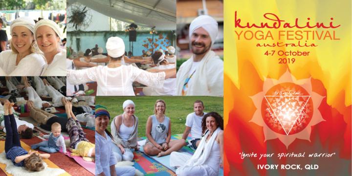 Kundalini Yoga Festival Australia 2019 Event Banner