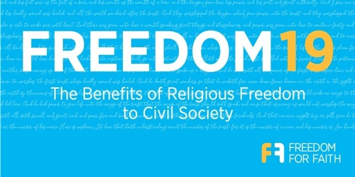 Freedom19 Conference Event Banner