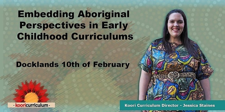 Docklands - Embedding Aboriginal Perspectives in Early Childhood Event Banner