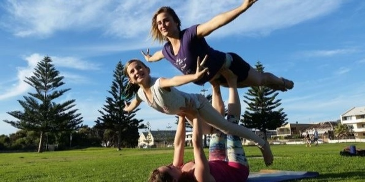 ACRO Yoga (with Sarah Fae) Event Banner