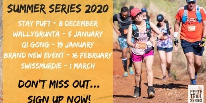 Perth Trail Series - Summer Series 5 Pass Package Event Banner