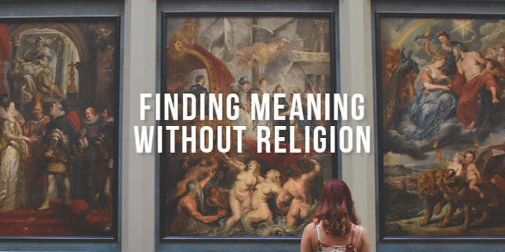 Finding Meaning Without Religion (Melbourne) Event Banner