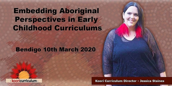 Bendigo - Embedding Aboriginal Perspectives in Early Childhood Education Event Banner