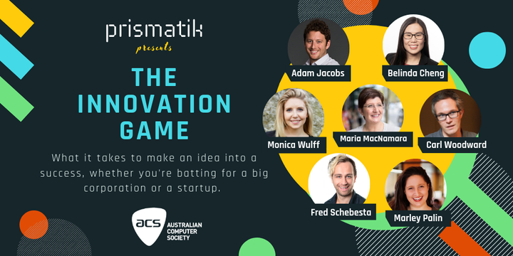 The Innovation Game Event Banner