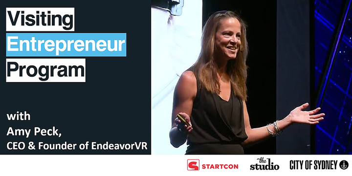 Extend Reality with Amy Peck, CEO & Founder of EndeavorVR Event Banner
