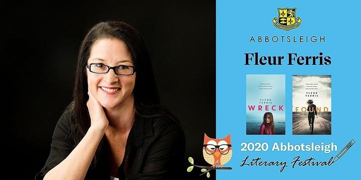 12pm Session - Fleur Ferris at the Abbotsleigh Literary Festival 2020 Event Banner