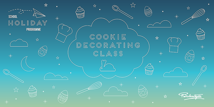 Easter Cookie Decorating Class Event Banner