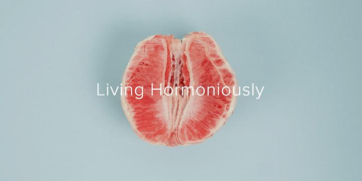 Living Hormoniously Event Banner