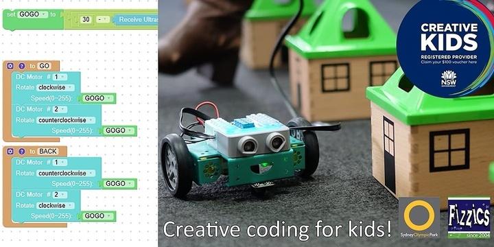 Creative Coding, Sydney Olympic Park Jan 10 Event Banner