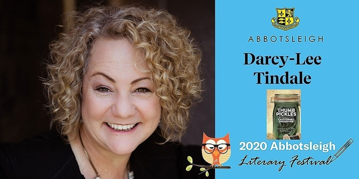 Crime writing workshop with Darcy-Lee Tindale at the Abbotsleigh Literary Festival 2020 Event Banner