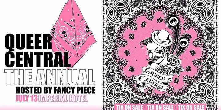 Queer Central - The Annual Event Banner
