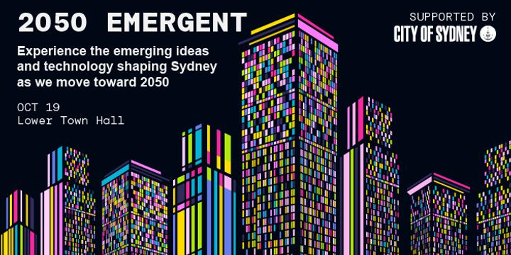 2050 EMERGENT Event Banner