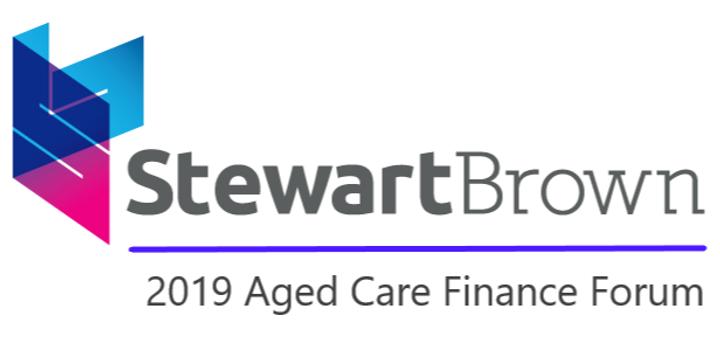 StewartBrown 2019 Aged Care Finance Forum Event Banner