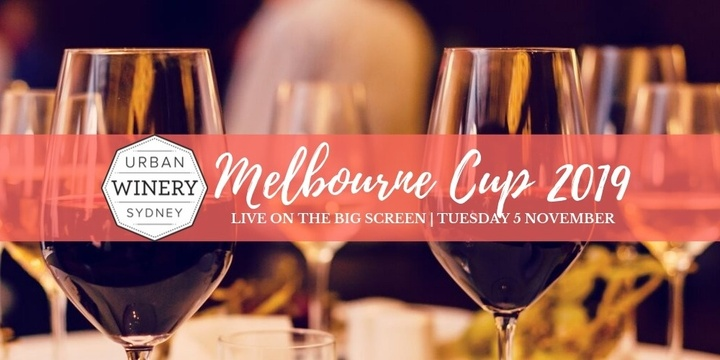 Celebrate Melbourne Cup at Urban Winery Sydney Event Banner