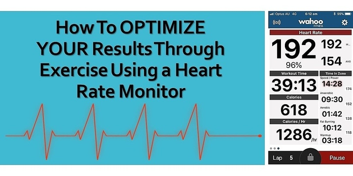 How to OPTIMIZE YOUR Results Through Exercise Using a Heart Rate Monitor Event Banner