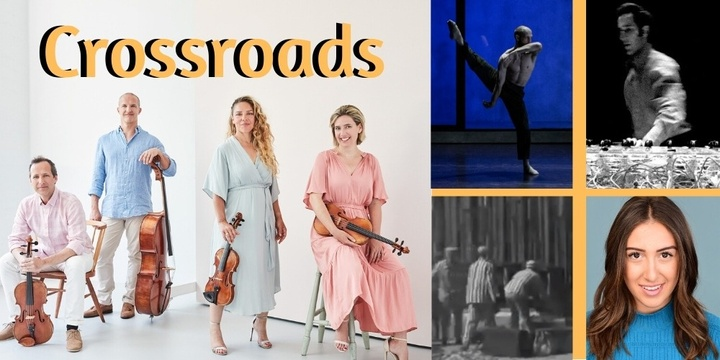 The Sydney Art Quartet - CROSSROADS Event Banner